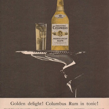 1955 Columbus Rum Advertisement 2 - Advertising