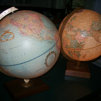 Lighted Globes - Office