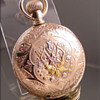 Hampden Multi-Color Hunt Case Pocket Watch