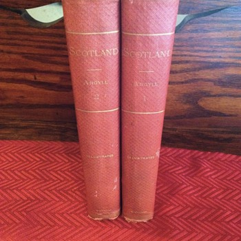 Scotland  by Duke of Argyll Vol 1&2 illustrated - Books
