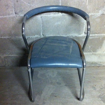 FORM metal chair.
