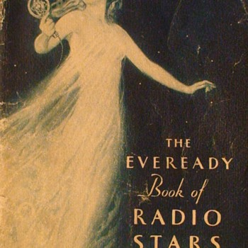 The Eveready Book Of Radio Stars Art Deco