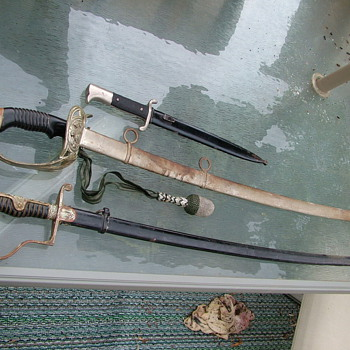 Father-InLaw WWII Swords 