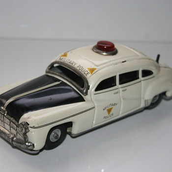 tippco military police tin car - Model Cars