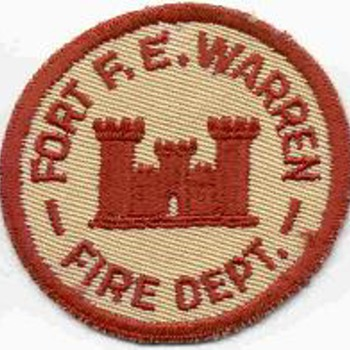Fort F. E. Warren, WY Fire Department Patch - Firefighting