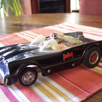 1960's Batmobile slot car  - Model Cars