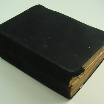 1859 Leather Bound Bible - Books