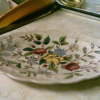 This an old tray I've been using it a lot - China and Dinnerware