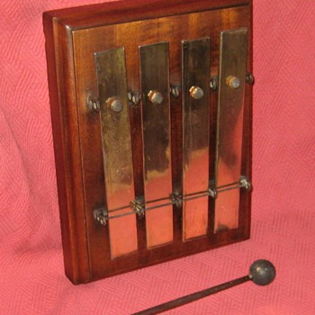 1927 Liberty Chimes (by Kohler-Leibich) 4-Bar Railroad Dinner Chime - Railroadiana