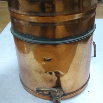 Copper Alcohol Still Condenser - OR ?