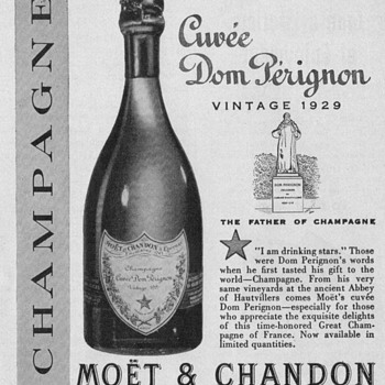 1950 Moet & Chandon Advertisement - Advertising