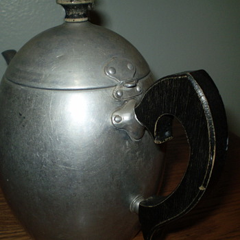 One hundred year old aluminun tea kettle - Kitchen
