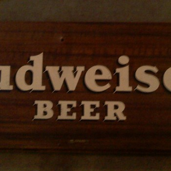 BUDWEISER SIGN