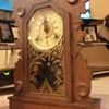 Wm. L. Gilbert Clock Co. Antique SWAN Clock 1896