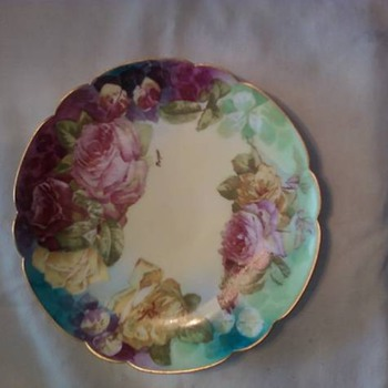 Rose Plate! - China and Dinnerware
