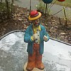 Autographed Emmett Kelly Jr Figurine!