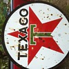 1960 texaco sign