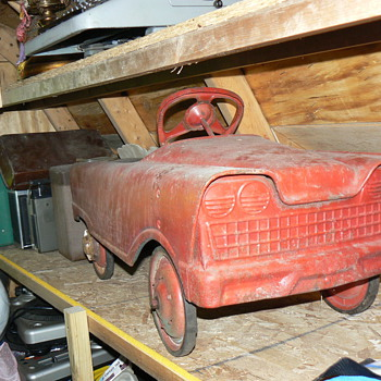 Vintage Pedal Car - Unknown