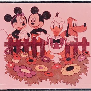 "4"" x 5"" Disney Film Positive - Movies"