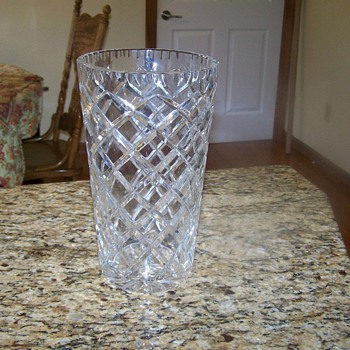 Crystal Vase - Glassware
