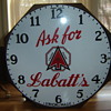 1930&#039;s Shonbeck Clock Co.  Hamilton, Ont., for Labatts Beer!