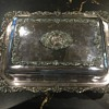 Wallace silver serving tray