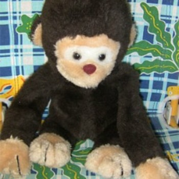 1979 GUND MONKEY - Dolls
