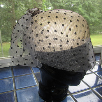 Famous Vintage Hat Designer 50's Hat by Don Marshall  - Hats