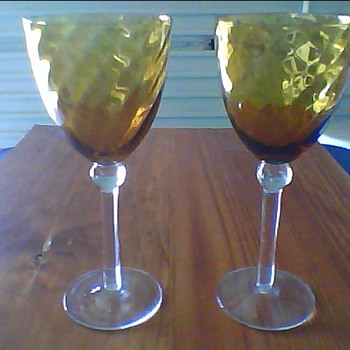 need help identifying  - Glassware