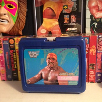 Vinatge WWF Thermos Hulk Hogan Lunchbox - Kitchen