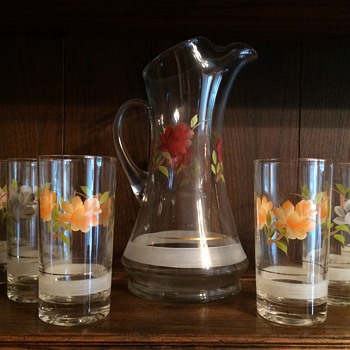 Pitcher and Glass Set - Glassware