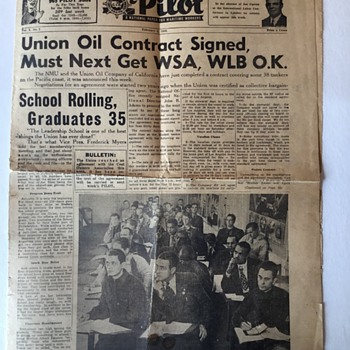 Some old news papers.