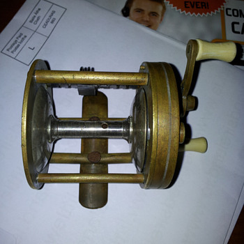 south bend anti back lash casting reel no 550a was silver