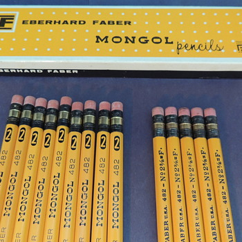 Pencils Continued II (Mongol and Dixon) - Office