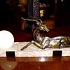 Antelope/Impala Art Deco Lamp, 1930-35