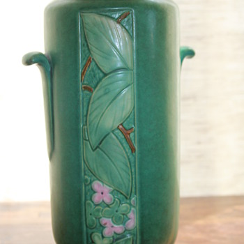 Weller Velva Vase - Art Pottery