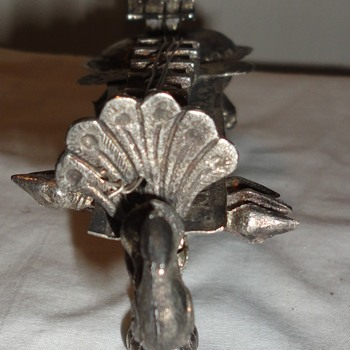 Silverplated Ornament