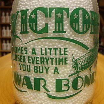 Wells & Lassiter Quart (Jackson, Tenn.) War Slogan.......