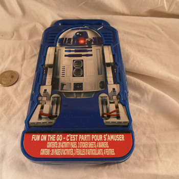 "Star Wars ""Fun On The Go"" R2D2 Activies Box, With 20 Projects. - Toys"