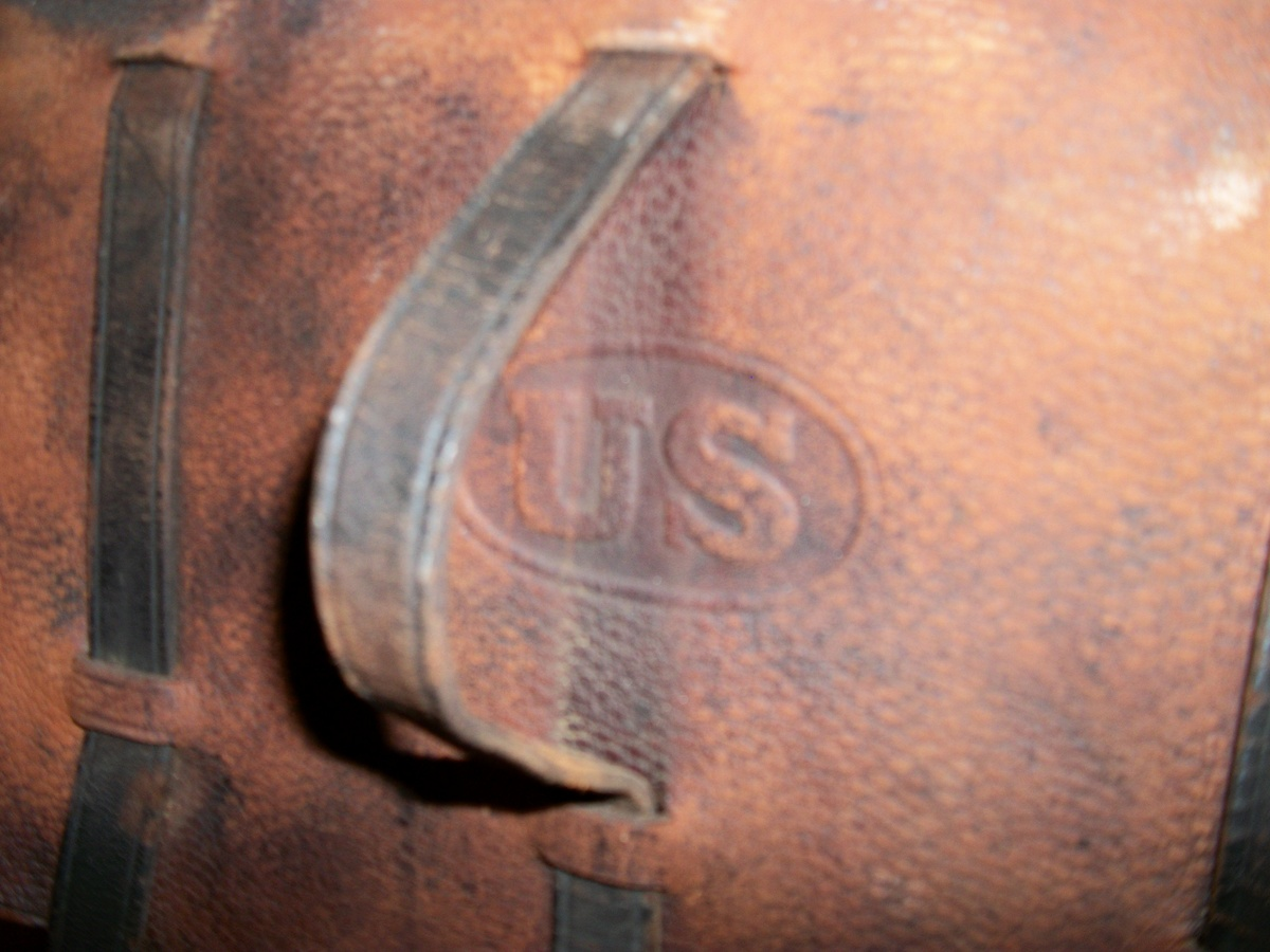 U.S Stamped Leather Saddle Bags : Collectors Weekly