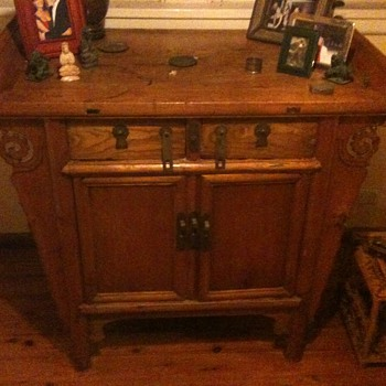 Can anyone tell me anything at all about this piece of furniture.   - Furniture