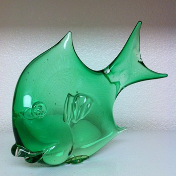 Cenedese Murano Fish Sculpture - Art Glass