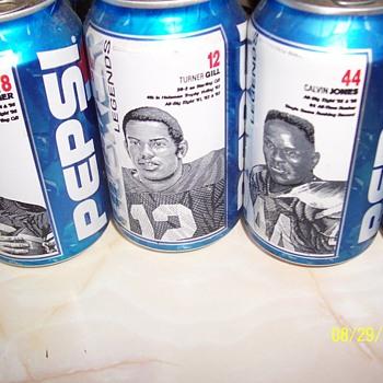 Nebraska 1971 Championship Pepsi Cans - Football