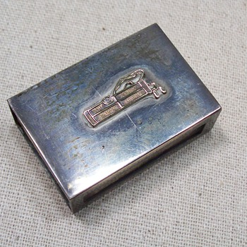 Sterling Silver matchbox - Sterling Silver