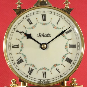 Schatz Standard 400 Day Clock with Roman Numerals, ca. 1950