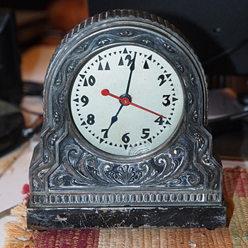 H. A. Best Clock, Hammond Movement 1930-35  - Art Deco