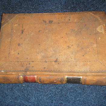 1830-1855 Ledger of NH Doctors - Books