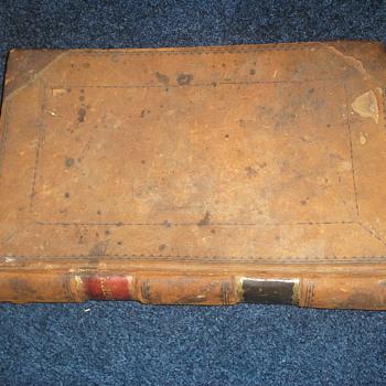 1830-1855 Ledger of NH Doctors - Books
