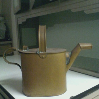 Antique Hot Water Can from England