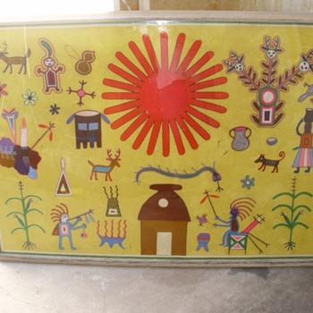 YARN ART INDIAN YARN ART 1970'S